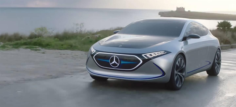 Mercedes Eqa Concept Video Bmw I3