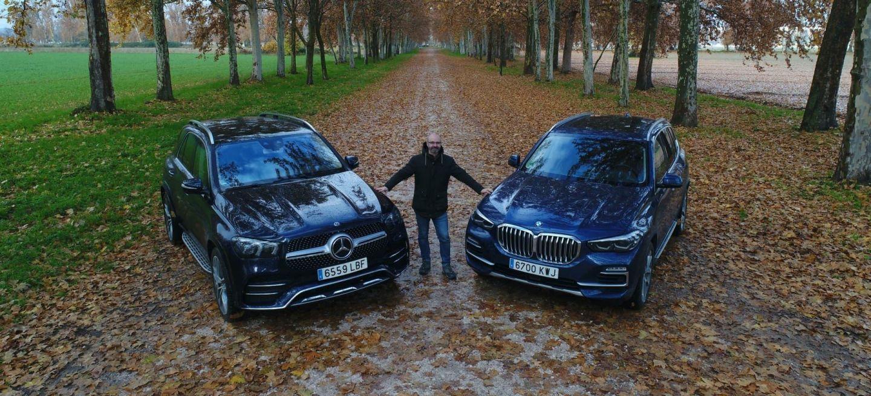 Mercedes Gle Bmw X5 Recortada