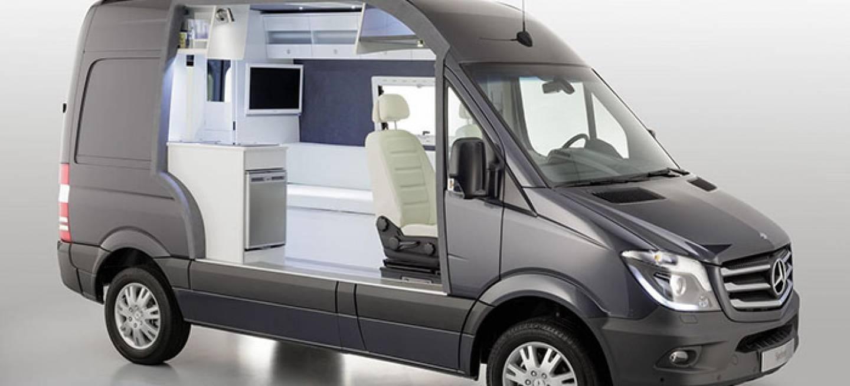 Mercedes Sprinter Caravan Concept Una Casa En Formato
