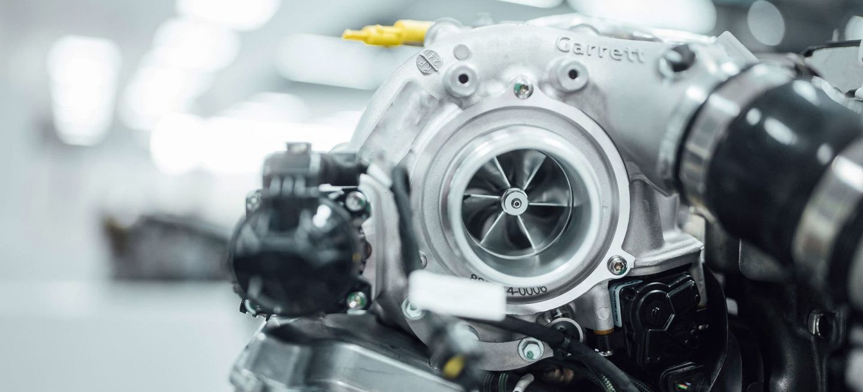 Mercedes Turbo Electrico Garrett 05