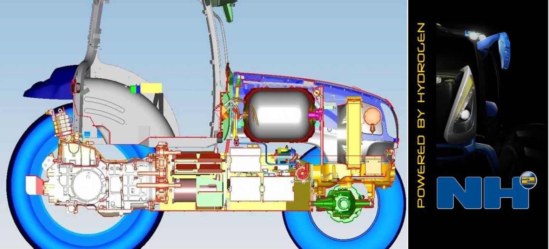 Primer New Por Hidrógeno Holland Alimentado Tractor Nh2El wv0nN8m