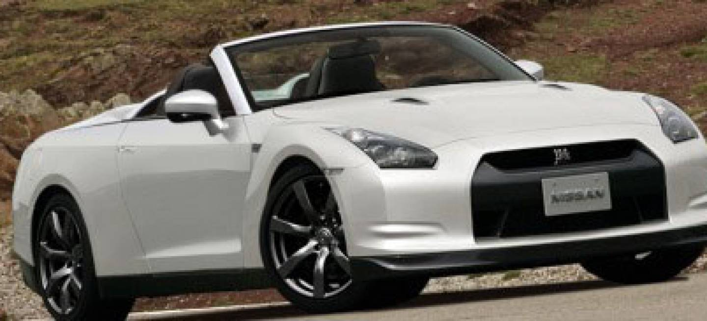 nissan gt r cabrio recreaci n diariomotor. Black Bedroom Furniture Sets. Home Design Ideas