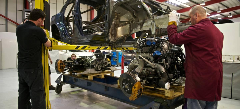 Nissan Juke-R, la bestia con motor de Nissan GT-R va tomando forma |  Diariomotor