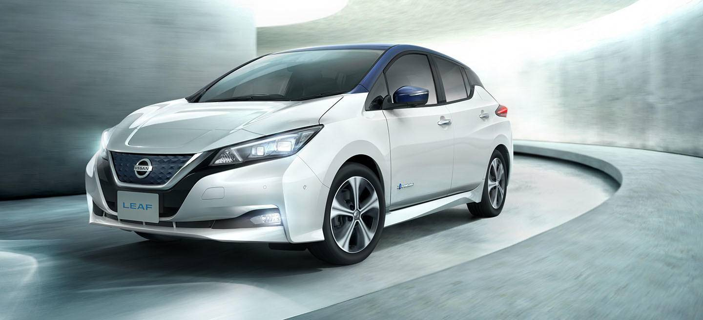 ya est aqu el nuevo nissan leaf 2018 y pretende ser un. Black Bedroom Furniture Sets. Home Design Ideas