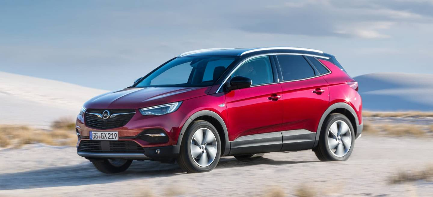 Opel Grandland X With Intelligrip