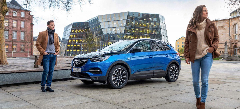 Opel Grandland X Hybrid4 2020 Azul 20