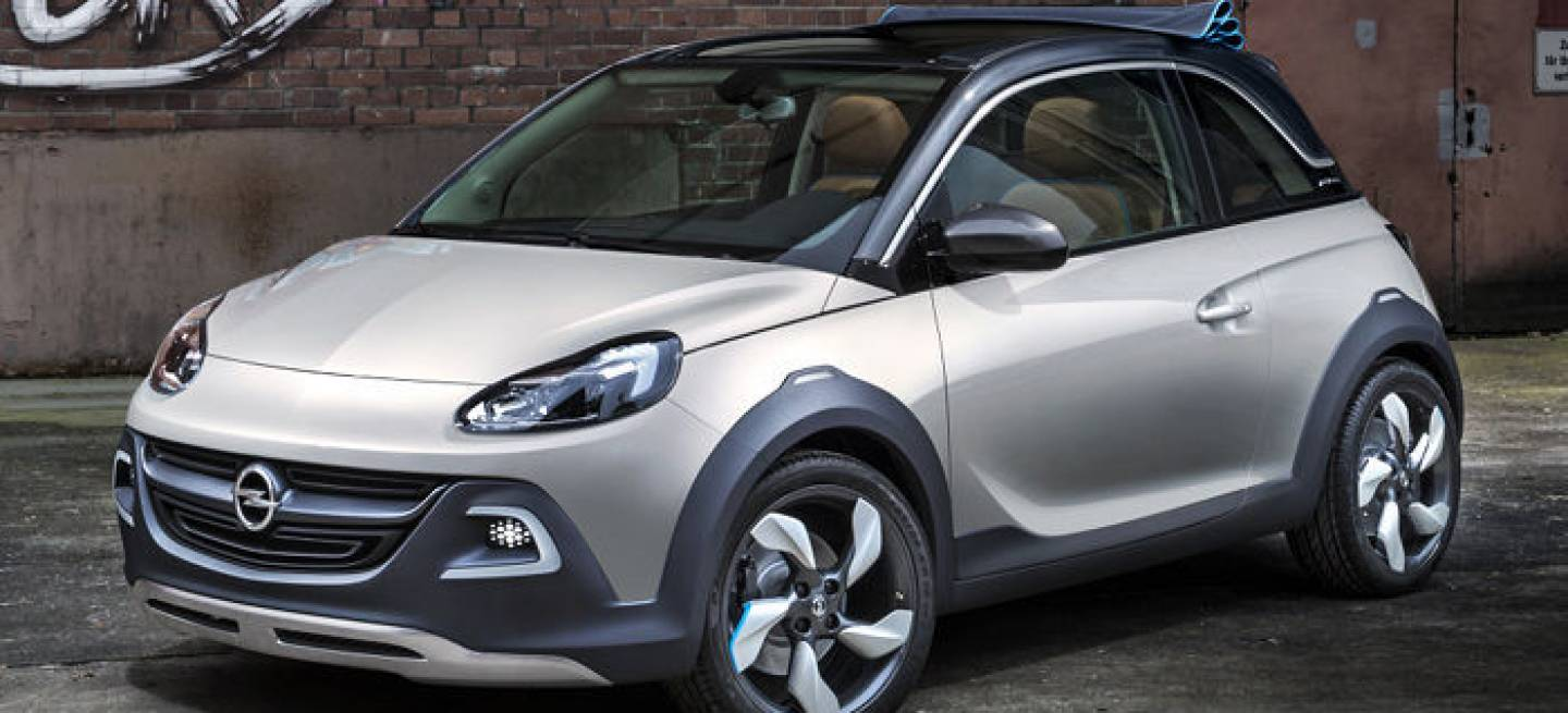 opel adam rocks concept cuando el adam se convirti en cabrio diariomotor. Black Bedroom Furniture Sets. Home Design Ideas