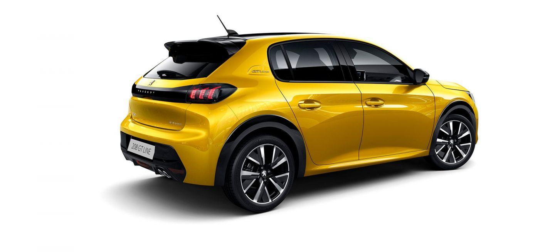 Peugeot 208 2019 Amarillo Exterior 12
