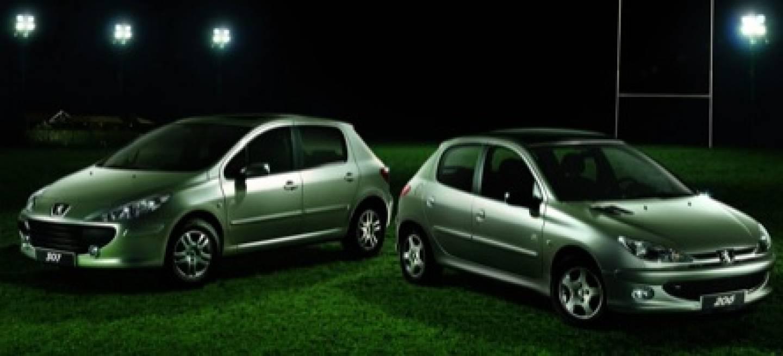Peugeot 307 y 206 edici n especial rwc diariomotor - Alfombras peugeot 206 ...