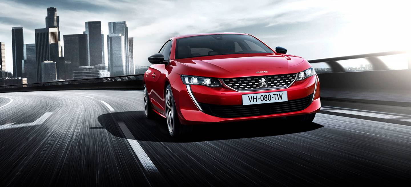 Peugeot 508 Frontal