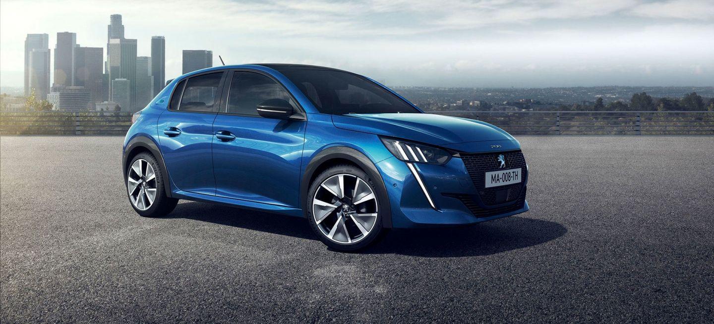 Peugeot E 208 2019 Azul Exterior 20