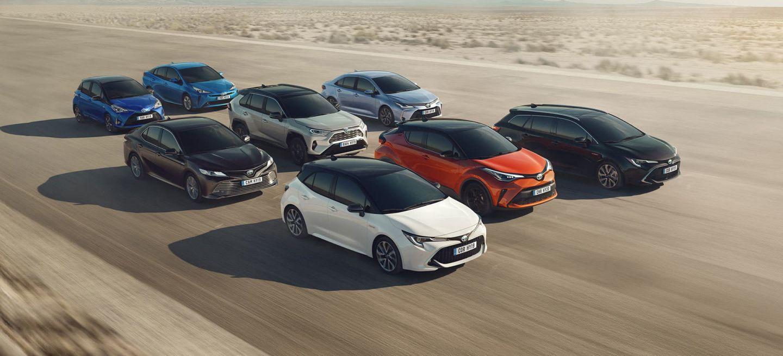 Plan Renove 2020 Toyota Coches Hibridos Gama