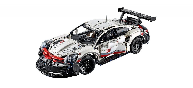 Porsche 911 Rsr Lego P