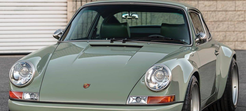 Porsche 911 Singer Verde 2020 8