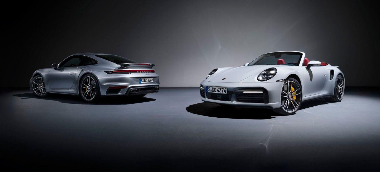 Porsche 911 Turbo S 2020 P