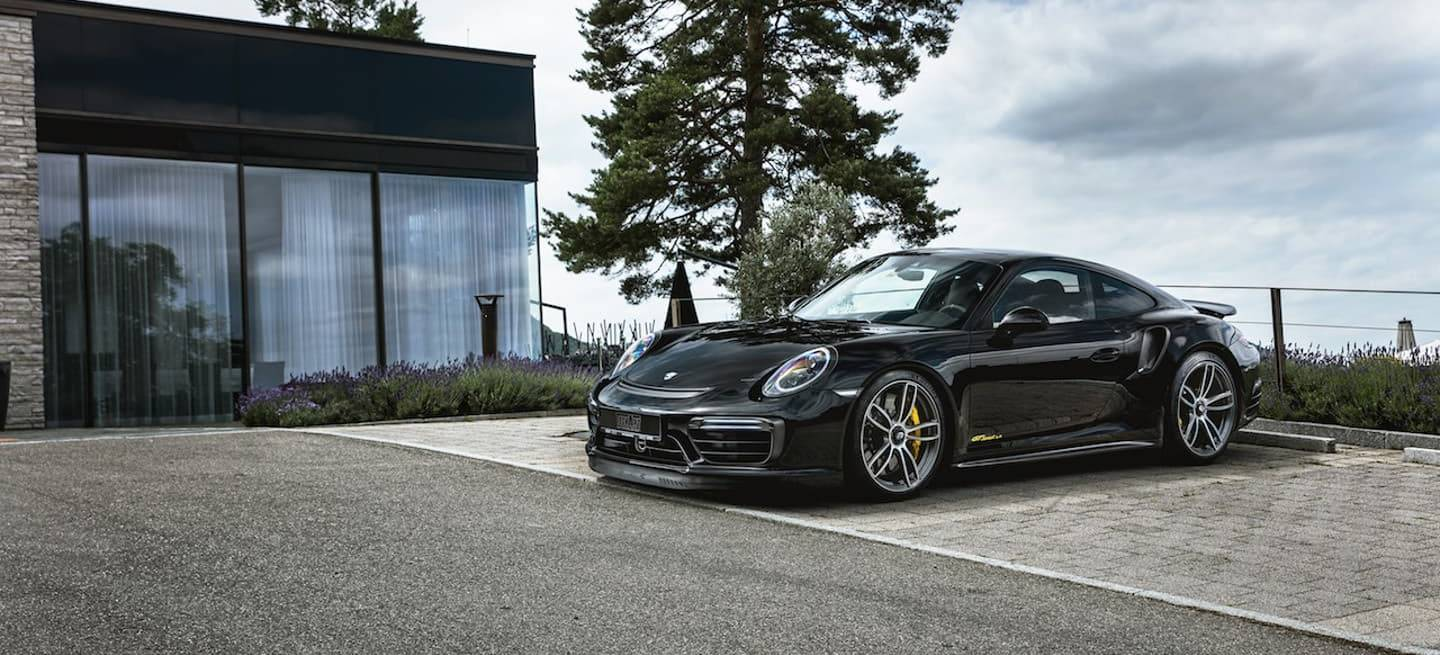 Porsche 911 Turbo S Techart Dm 1