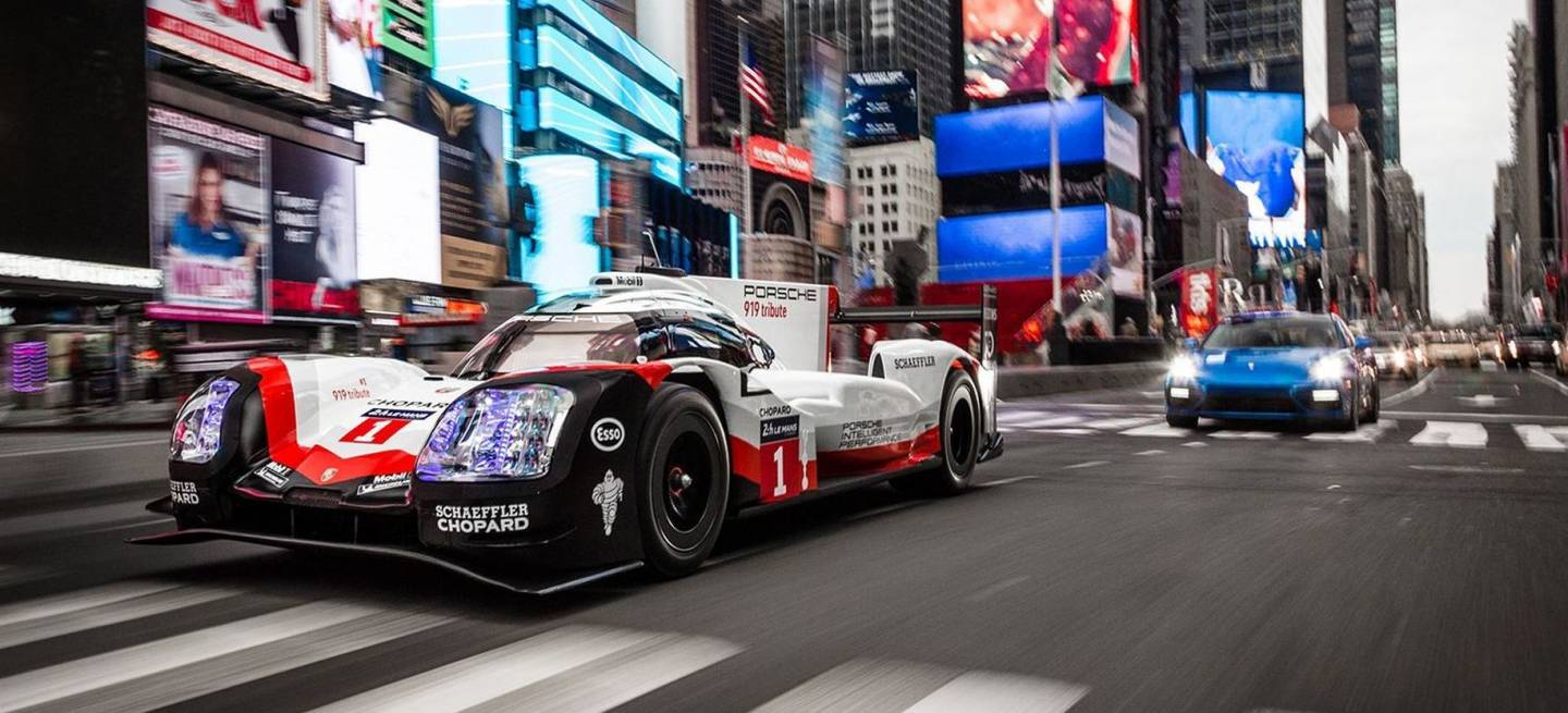 Porsche 919 Tribute Nyc P