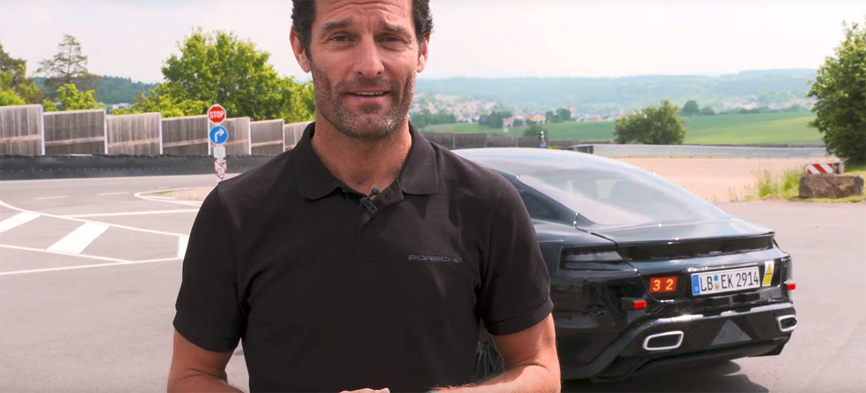Porsche Mission E Mula Video Escapes Falsos