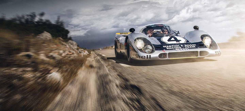 Porsche 917 Coche De Carreras De Calle Monaco 01