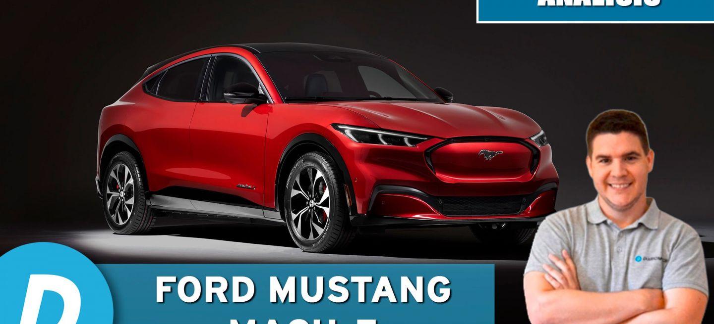 Portada Analisis Clavero Mustang Mach E Electrico Diariomotor 2019