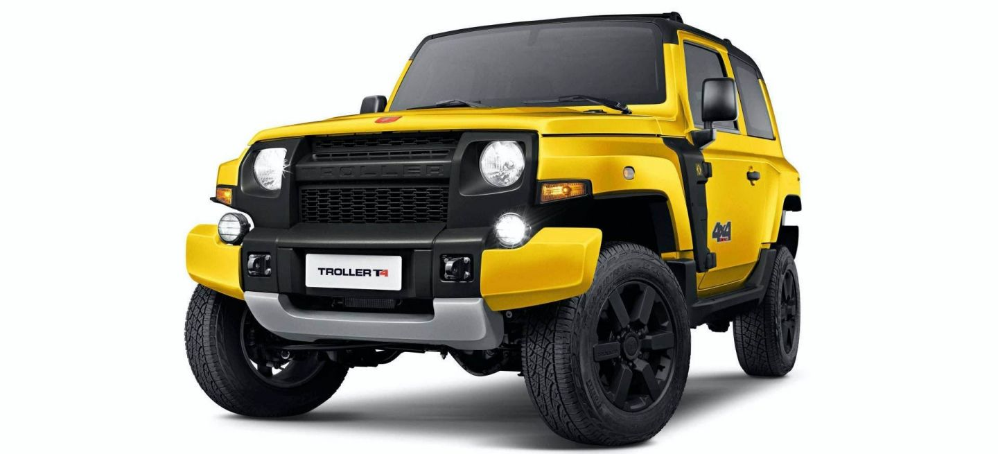 2021 Ford Troller T4 Configurations