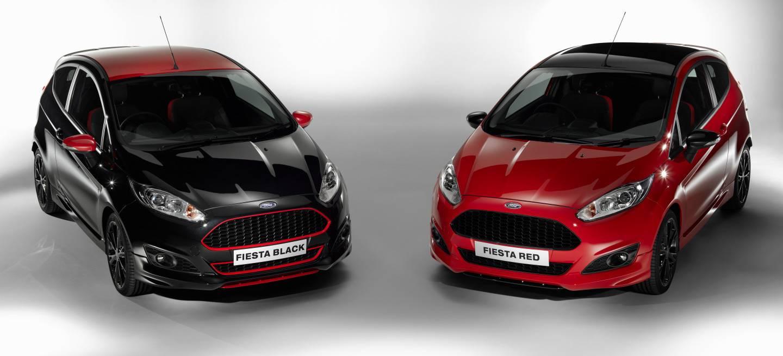 Ford Fiesta Black y Red Edition, ahora en vídeo
