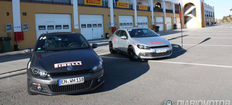 Circuito Monteblanco : Presentación de los neumáticos pirelli p zero silver fuera y dentro