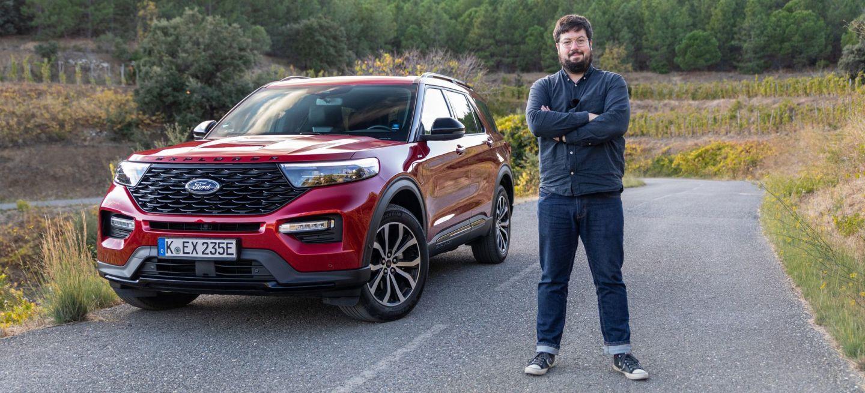Prueba Ford Explorer Sergio Tarragona