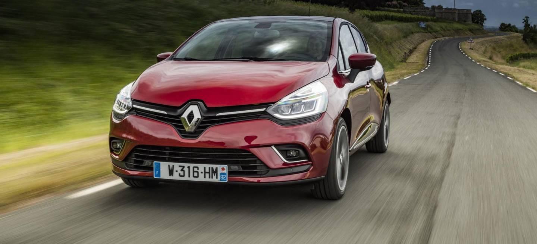 Renault Clio 2018 Rojo Frontal Exterior
