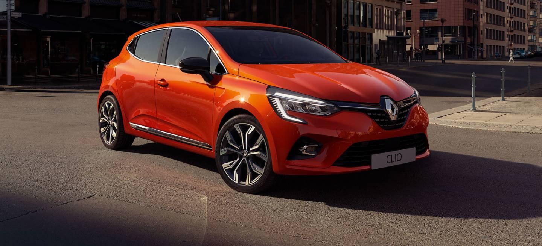 Renault Clio 2019 Naranja Exterior Fronta 03