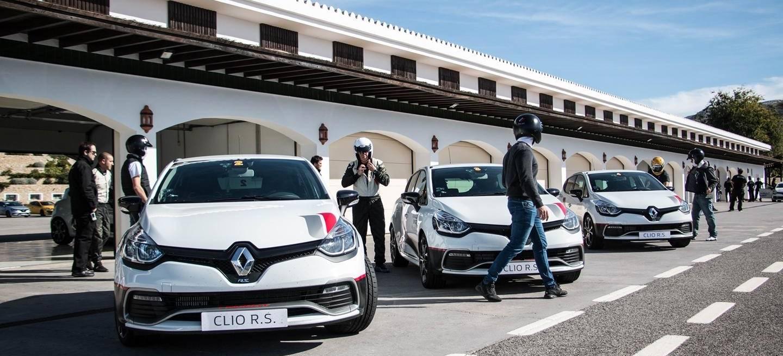 Circuito Ascari : Probamos los renault clio r.s. trophy y clio cup en ascari: lo mejor