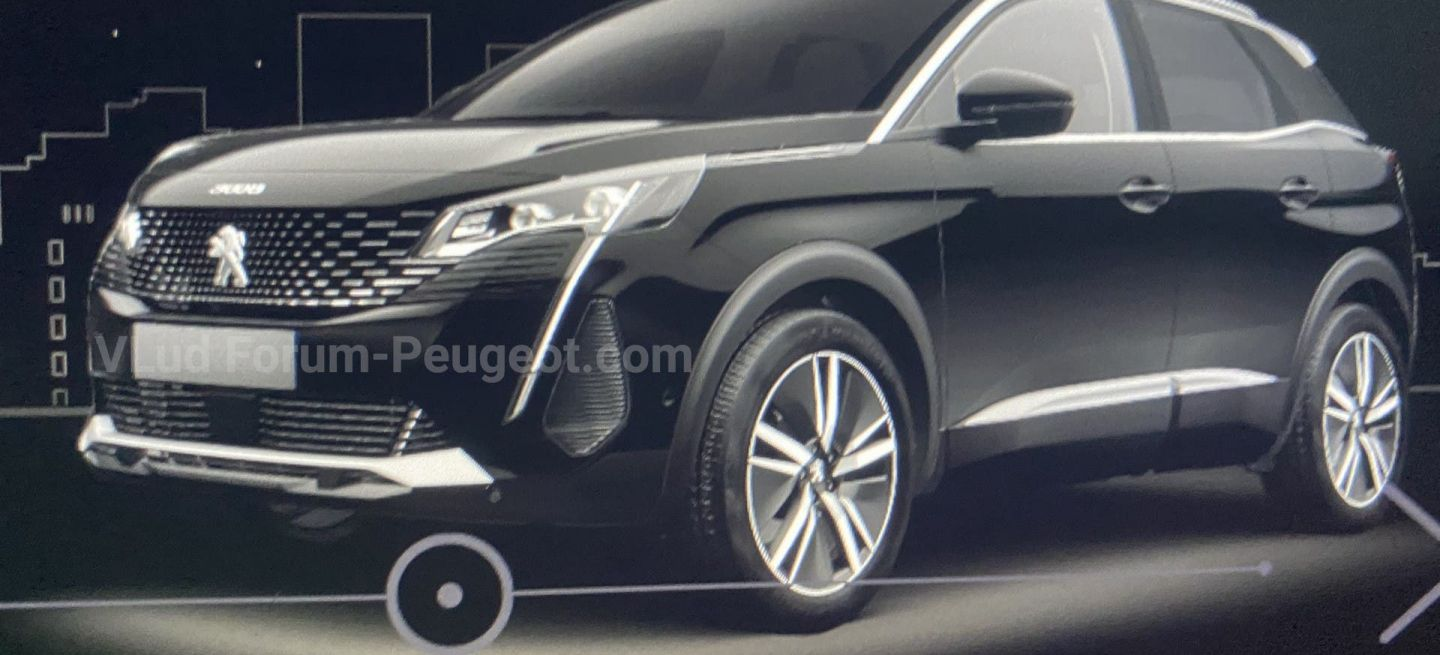 Restyling Peugeot 3008 2021 01