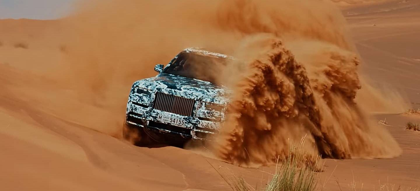 Rolls Royce Cullinan Video Dunas 0418 01