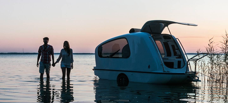 Sealander es caravana y barco de recreo a la vez: no vas a creer que ...