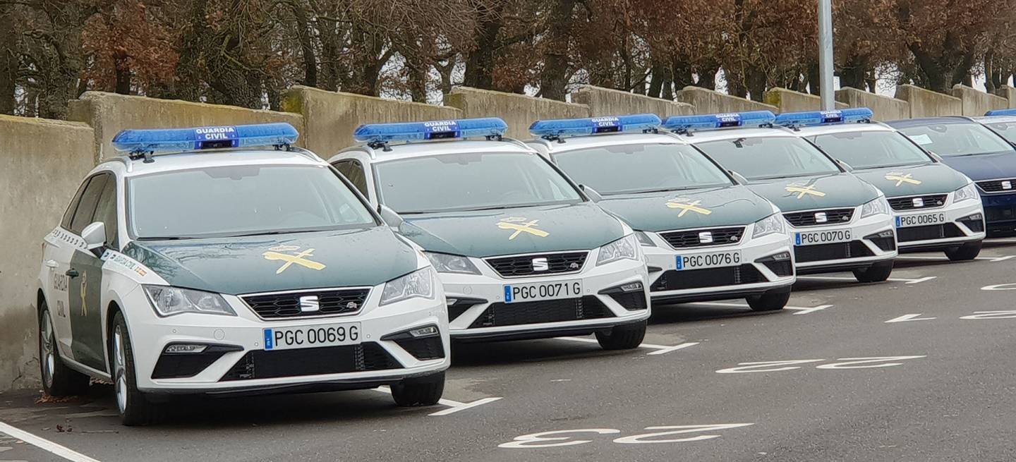 Seat Leon St 2019 Guardia Civil 02