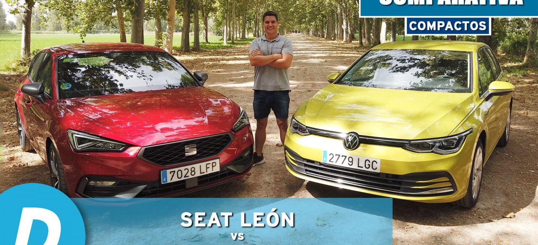 Seat Leon Volkswagen Golf Comparativa 0820 01