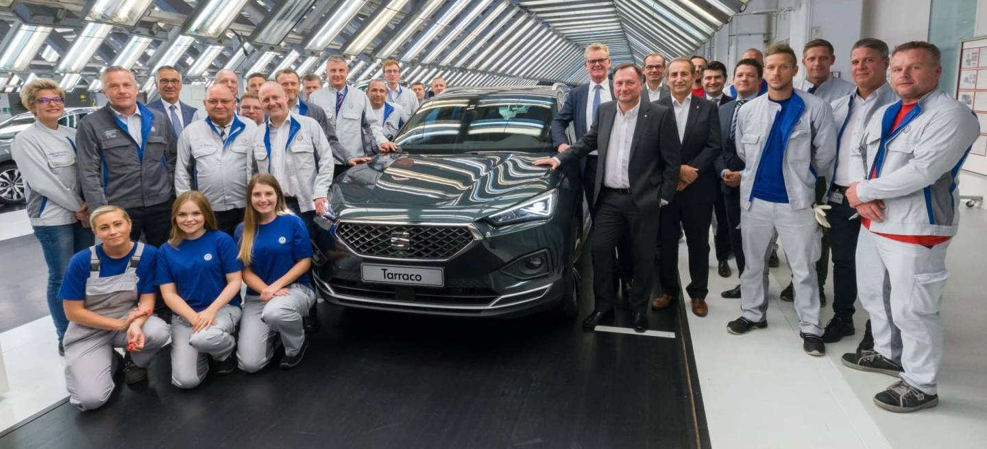 Seat Tarraco Production Starts In Wolfsburg P