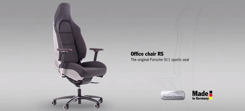 Porsche presenta su silla de oficina , precio : 4000€ — Foro Debates ...