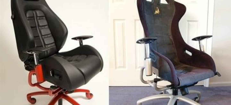 Sillas de oficina a partir de asientos de superdeportivos - Diariomotor