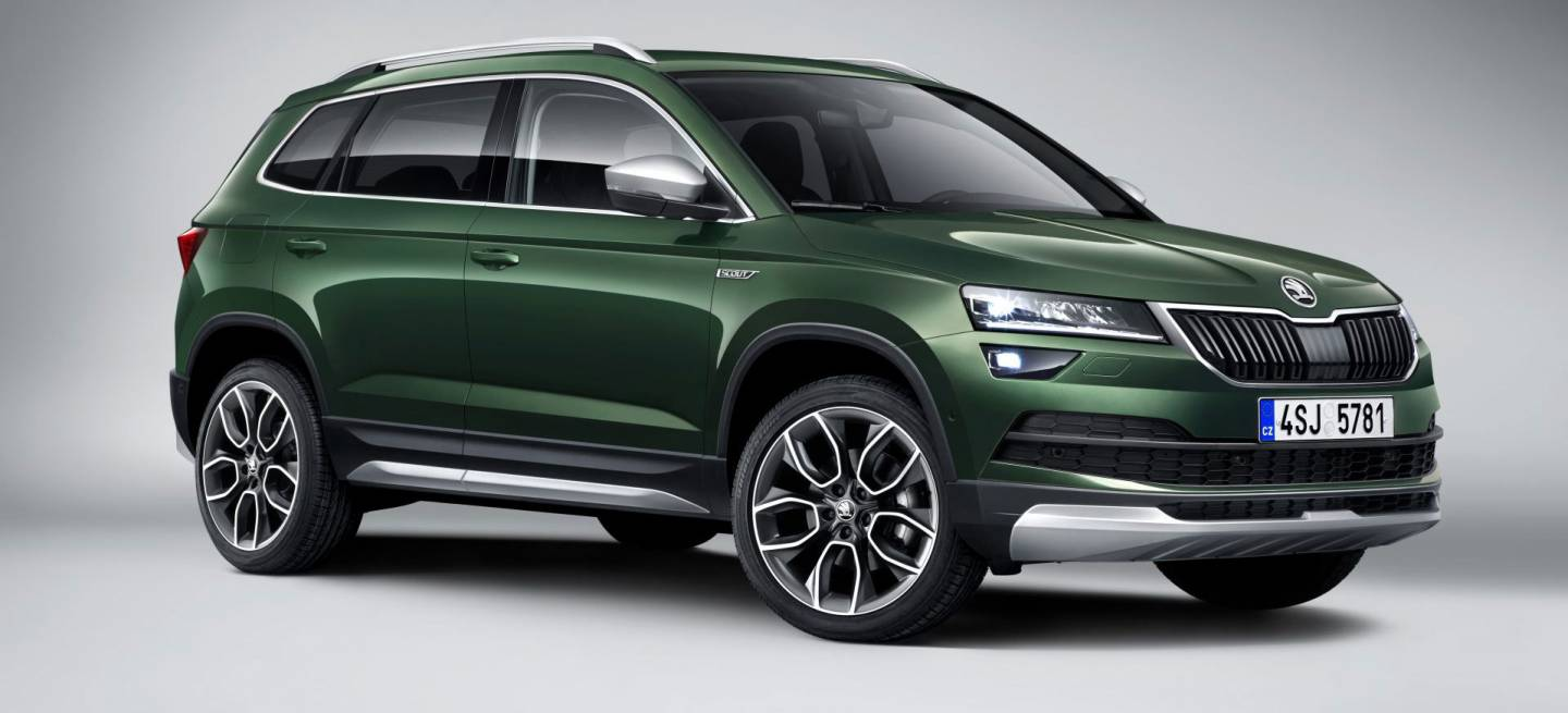 el skoda karoq scout ya est aqu la versi n m s campera del suv compacto checo diariomotor. Black Bedroom Furniture Sets. Home Design Ideas