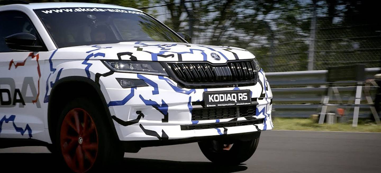 Skoda Kodiaq Rs Nurburgring Adelanto Video 00