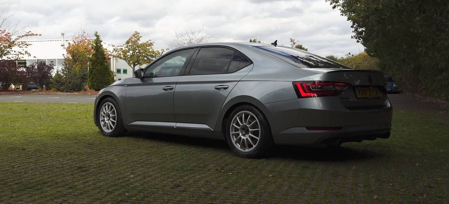 Skoda Superb Sleeper P