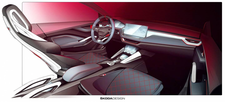 Skoda Vision Rs Concept Interior 02