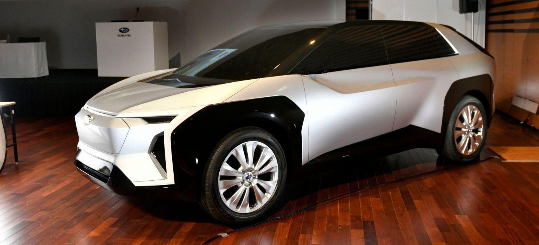 Subaru Toyota Electrico Futuro P