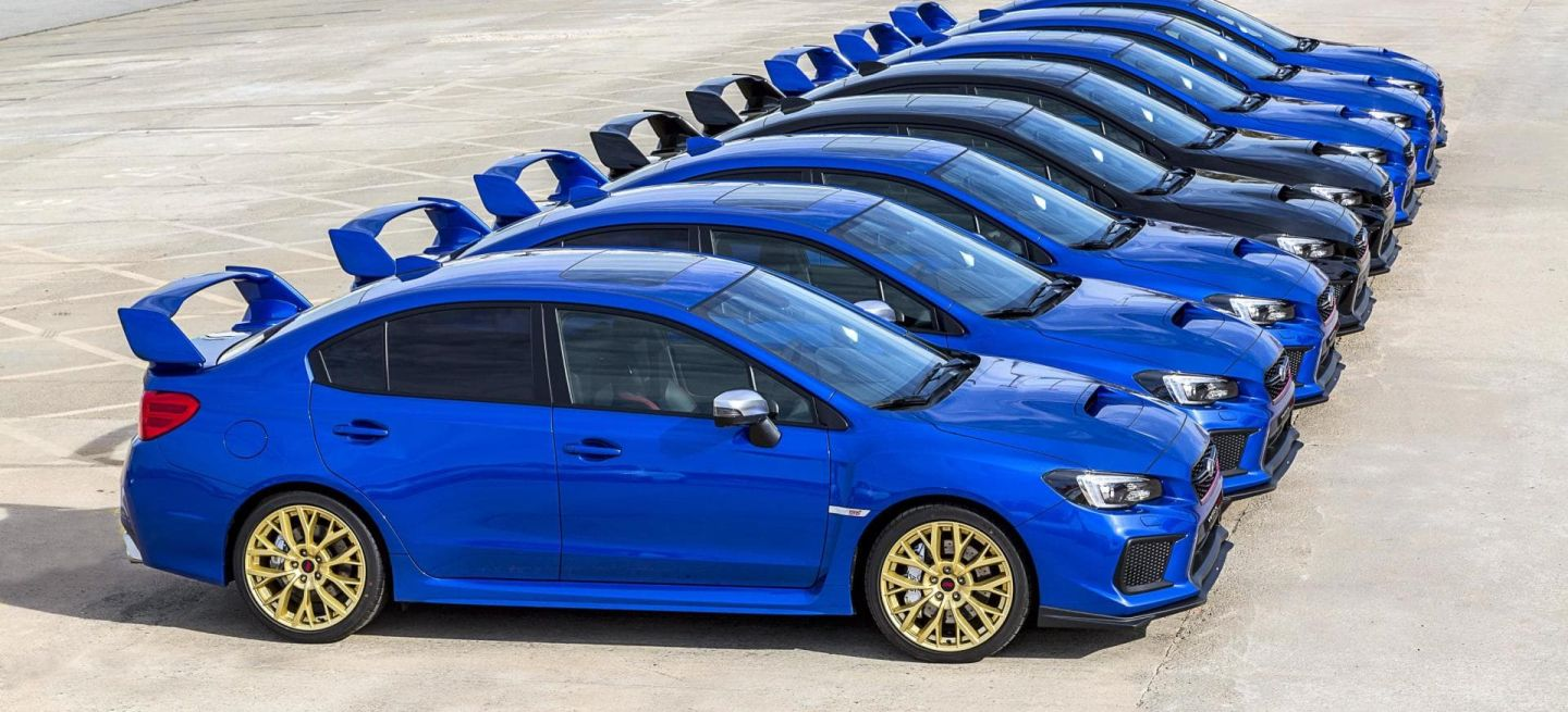 Subaru Wrx Sti Final Edition 2019 35