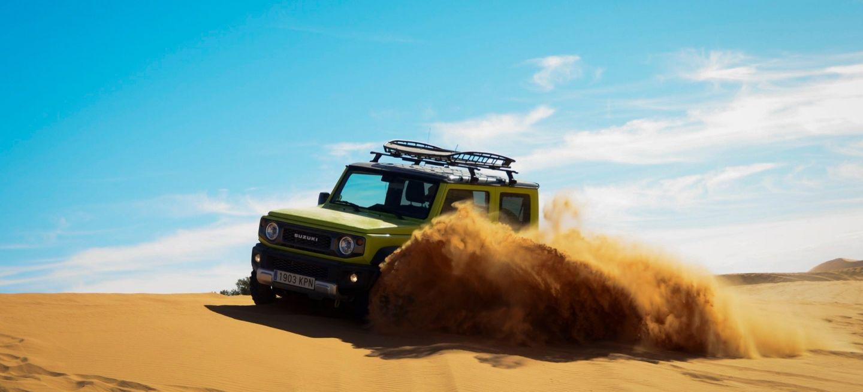 Suzuki Jimny Desert Experience 2019 00326