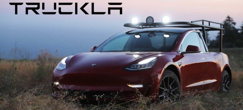 Tesla Model 3 Pick Up Truckla 0619 01