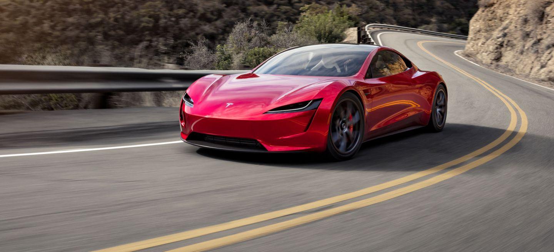 Tesla Roadster 2020 Rojo Programa Referidos 2