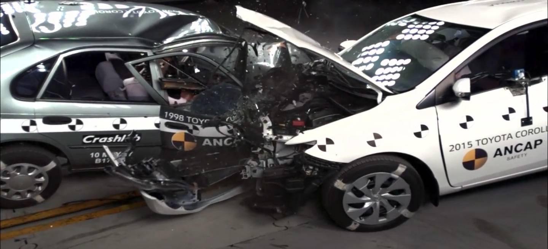 Escalofriante Asi De Brutal Es El Choque Entre Un Toyota Auris