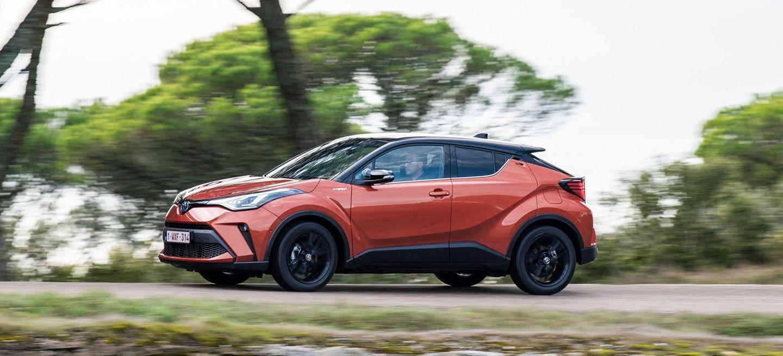 Toyota C Hr 2020 Naranja Movimiento 12